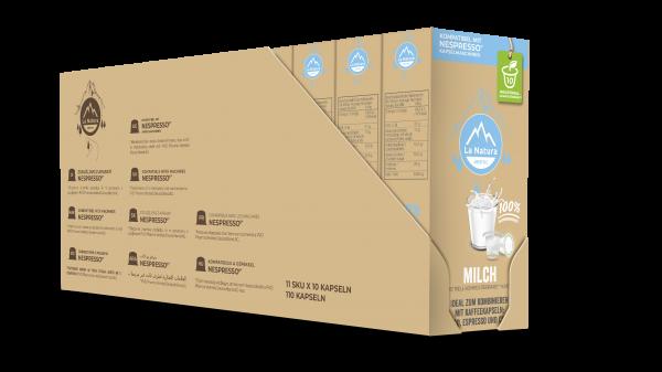 Milch 3,5% - 100er Multipack La Natura Lifestyle CRS