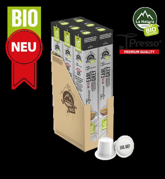 Earl Grey BIO Tee - 60 Kapseln La Natura Lifestyle by Tpresso BAG