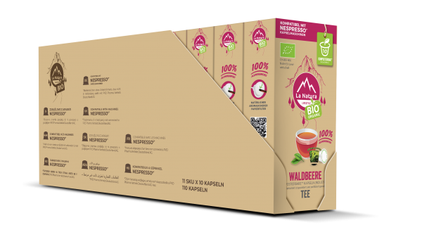 Waldbeere BIO Tee - 100er Multipack La Natura Lifestyle CRS