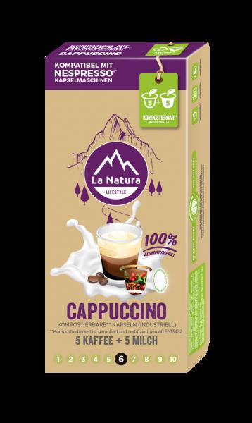 Cappuccino - 10 Kapseln La Natura Lifestyle