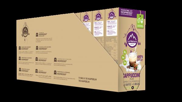 Cappuccino Plus - 100er Multipack La Natura Lifestyle CRS