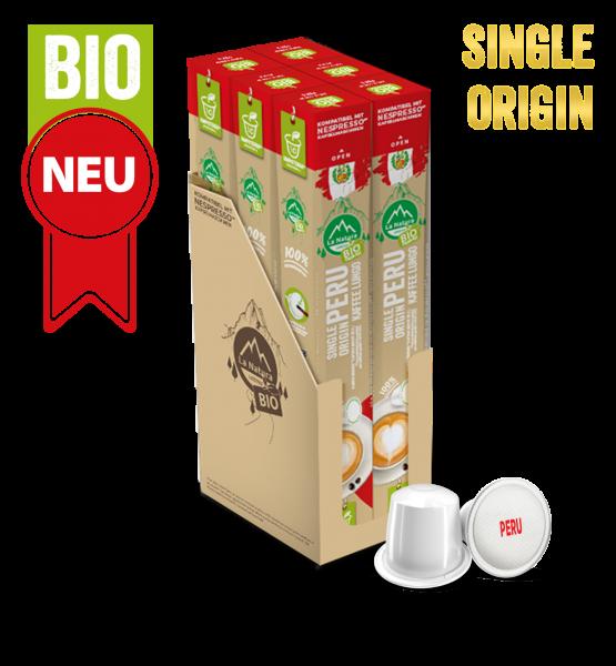 Peru Plantagen Single Origin BIO Kaffee - 60 Kapseln La Natura Lifestyle