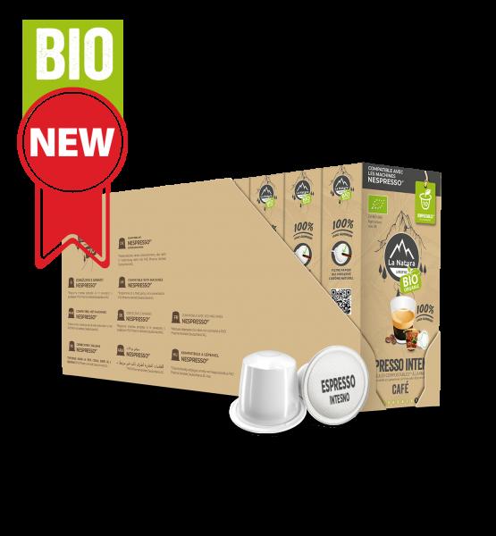 Café BIO Espresso Intenso - 110 capsules Multipack La Natura Lifestyle