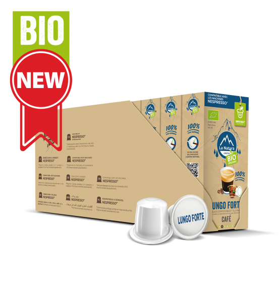 Café BIO Lungo Forte - 110 capsules Multipack La Natura Lifestyle-Copy