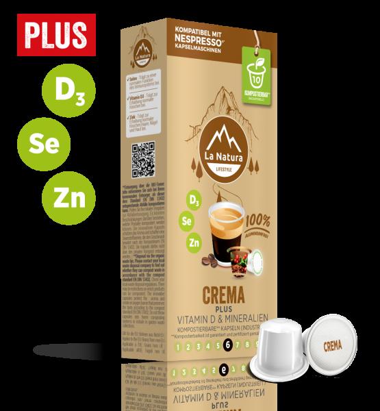 Crema Plus - 10 Kapseln La Natura Lifestyle CRS